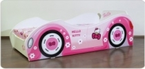Pat fetite Hello Kitty Car